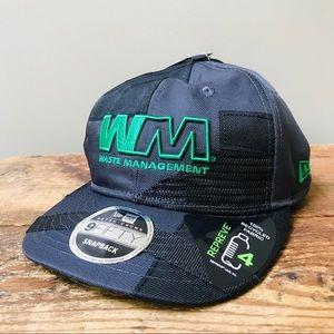 Waste Management Snapback Hat New Era New NWT Cap